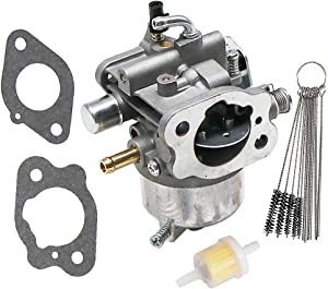 KIPA Carburetor for Kawasaki FH500V Series Engines Mower 99996-6050 Replace # 15003-2641 15003-2698 15003-7012 with Gaskets Carbon Dirt Jet Cleaner Tool Kit Fuel Filter