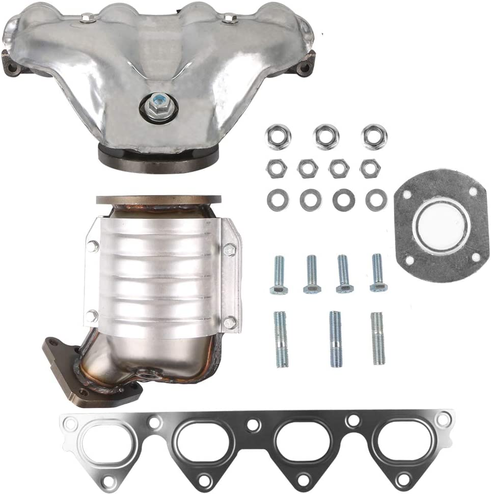 MOSTPLUS Manifold Catalytic Converter w/Gasket Kit Compatible for Honda Civic 1996 1997 1998 1999 2000 1.6L 674439