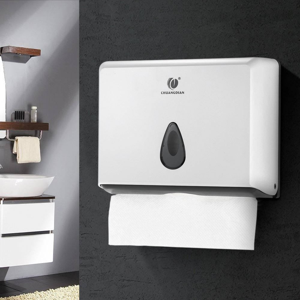Amazon.com: Wall-mounted Bathroom Tissue Dispenser Tissue Box Holder ...