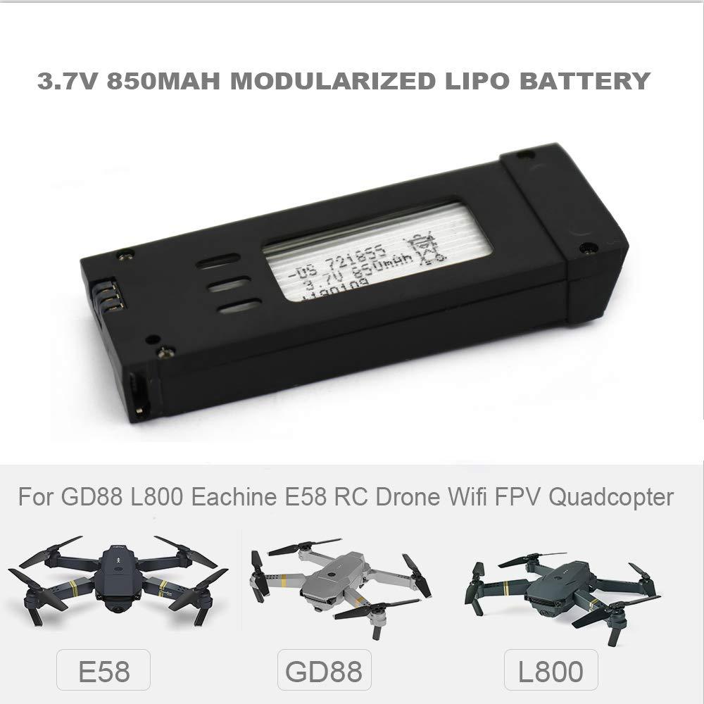 Godyluck 3.7V 850mAh batería lipo Modular para GD88 L800 Eachine ...