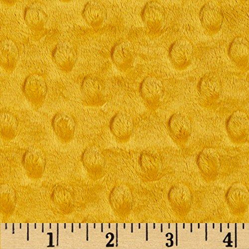 Shannon Fabrics Minky Cuddle Dimple Yard, Gold 0343388