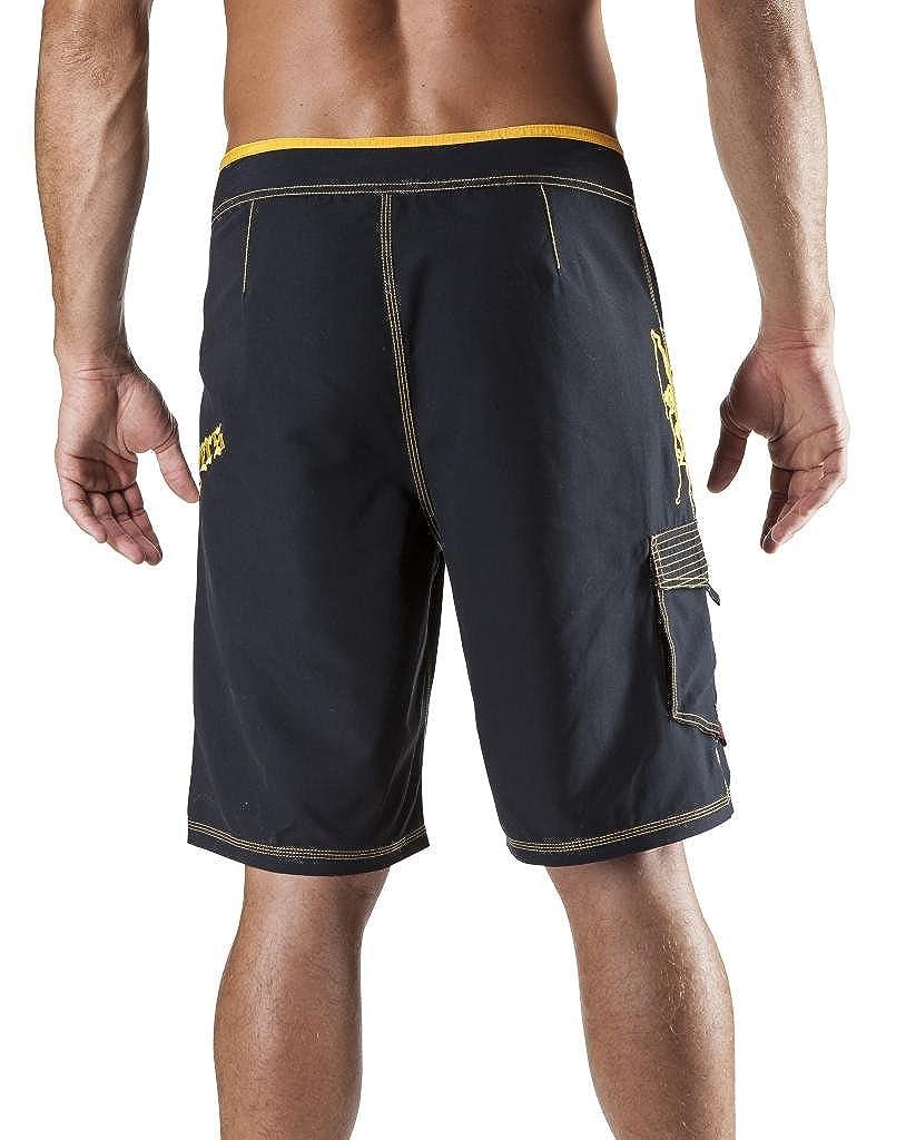 0929ba2da379a Maui Rippers Men's Board Shorts - Octo Tako   Triple Stitch Quick Dry Men's  Swim Trunks