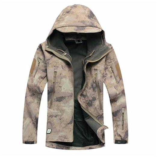 fd81f09fdcb Army Camouflage Coat Military Jacket Waterproof Windbreaker Raincoat  Clothes Army Jacket Men Jackets and Coats ATAC