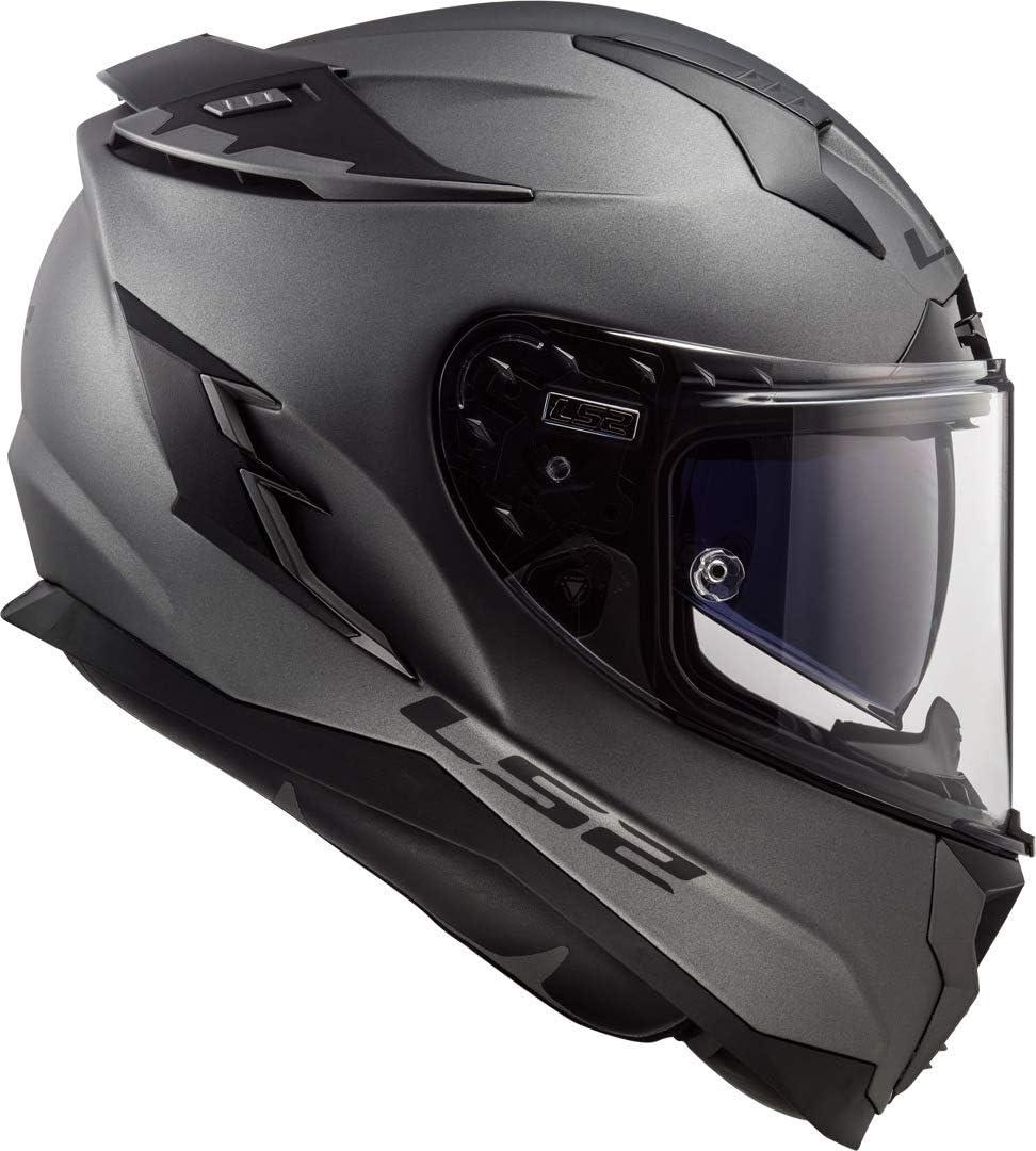 Ls2 Motorradhelm Ff327 Challenger Solid Matt Titanium Titanium L Auto
