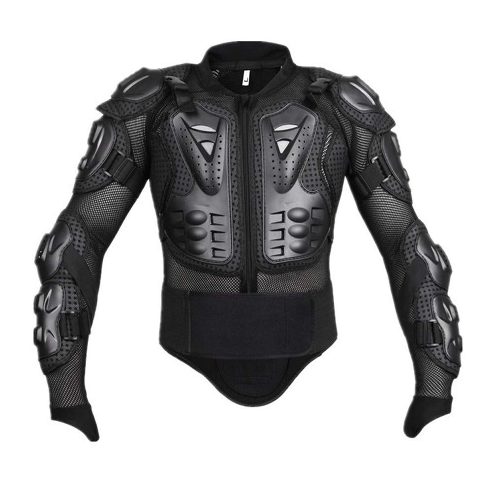 MIRRAY Motorcycle Motorbike Cycling Riding Full Body Armor Armour Protector Pro Street Motocross ATV Guard Shirt Jacket with Back Protection Coats