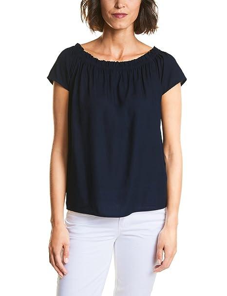 Street One 340954, Blusa para Mujer, Amarillo (Wild Lime 11347), 42(Talla del Fabricante: 40)
