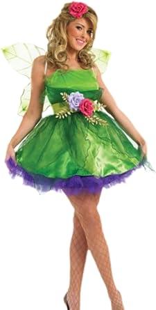 erdbeerloft – Mujer Tinker Bell marfil cuento hadas princesa Disfraz, S