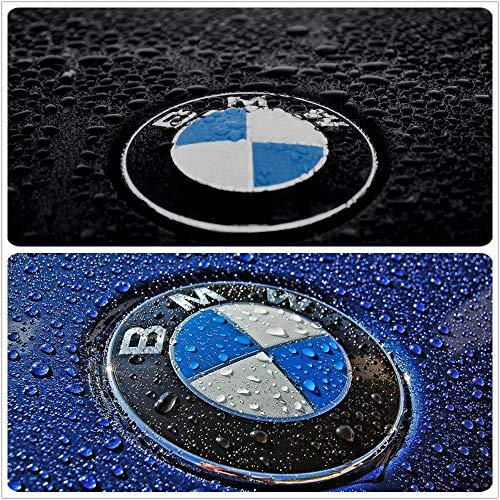Silver Chorme Rear Discharge Standard X6 Sticker Logo Badge Emblem Fit for BMW X6 Logo