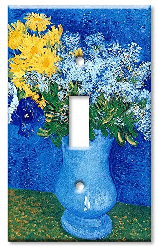 Art Plates - Van Gogh: Lilacs, Daisies Switch Plate - Single Toggle