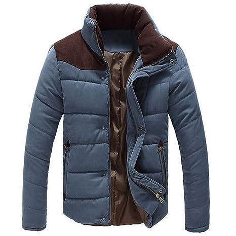 Hombre y niños abrigo caliente grueso,Sonnena ⚽ hombre casual chaqueta de manga larga invierno