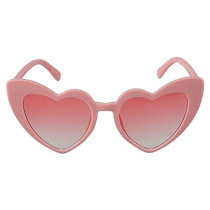 TOOGOO Gafas de sol de corazon Gafas de sol en forma de ...