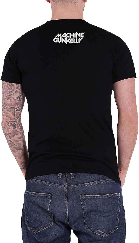 """T-shirt-NOUVEAU /& OFFICIEL! Machine Gun Kelly /""""Bad Mo-FU/"""" Noir"""
