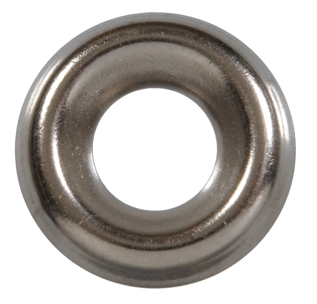 The Hillman Group 8854 Number 8 Stainless Steel Finish Washer, 8-Pack