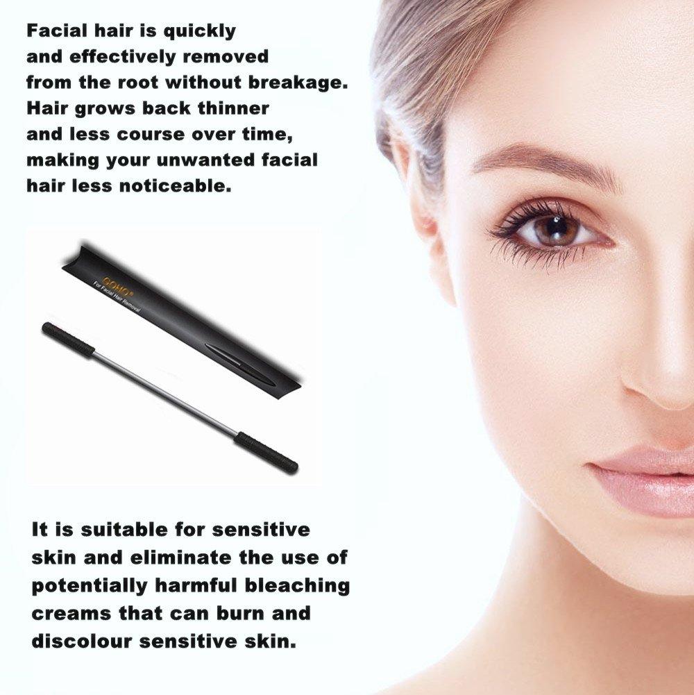 Authoritative message burned by facial hair bleach cream happens
