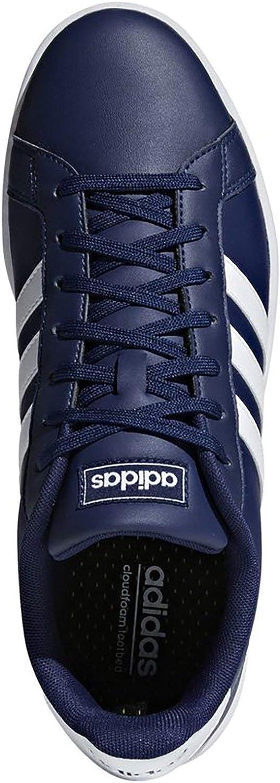 Adidas Grand Court F36404 Bleu Chaussures Homme Baskets