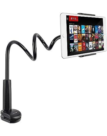 Tryone Soporte Tablet Móvil Multiángulo - Soporte con Cuello de Cisne para iPad Serie/Nintendo