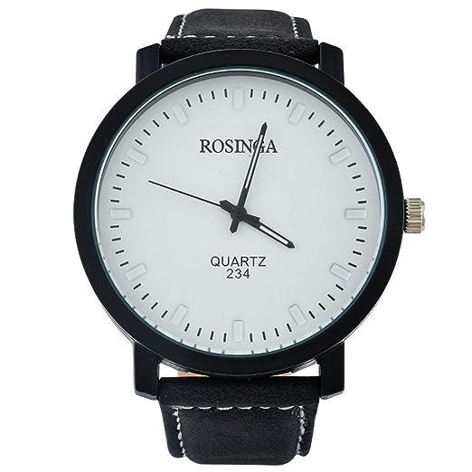 mjartoria Mujer Retro Negro Mate Cristal Pera Reloj de pulsera Quartz Analog brazo Maduro Reloj Reloj de cuarzo: Amazon.es: Relojes