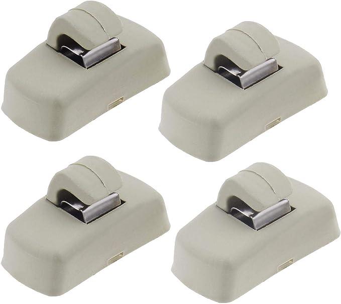 4 Teiliger Sonnenblenden Haken Clip Kompatibel Mit Transporter Caddy Golf Lupo Polo 3b0857561b 21312312231 Auto