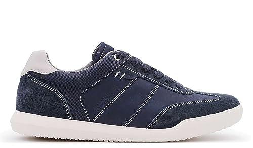 1ee1f0fc24e1a6 Navigare Sneakers Uomo Blu Scamosciato (42): Amazon.it: Scarpe e borse