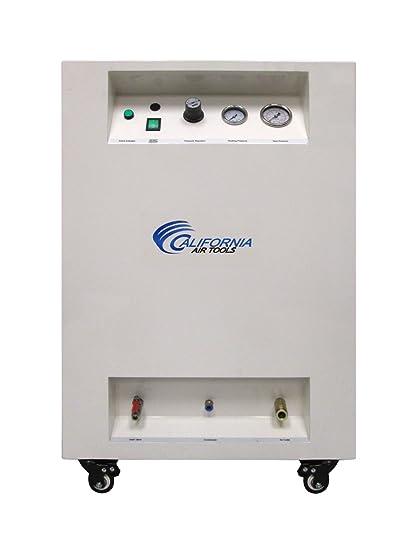 California Air Tools 10020spc Ultra silencioso y depósito de acero 2.0 HP sin aceite compresor de