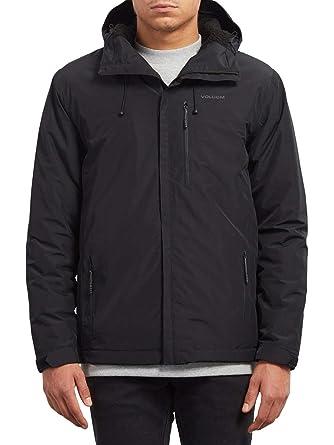 Black Et Stone Sports Jacket Lined Volcom Loisirs Storm waHIwA