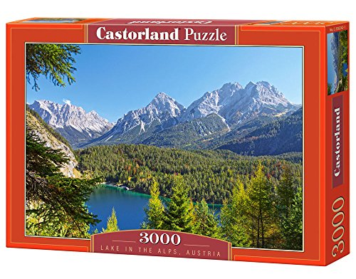 Castorland Lake in The Alps, Austria Puzzle (3000 Piece)