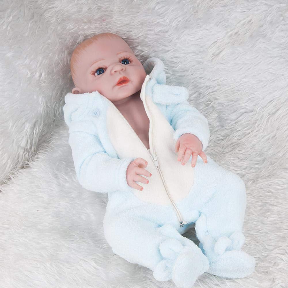 Hongge Reborn Bambola,Simulazione realistica del giocattolo della bambola del bambino della bambola di simulazione di rinascita 57cm