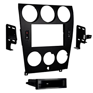 Metra 99-7524B Mazda 6 Double and ISO DIN Radio Install Kit for 2006-08