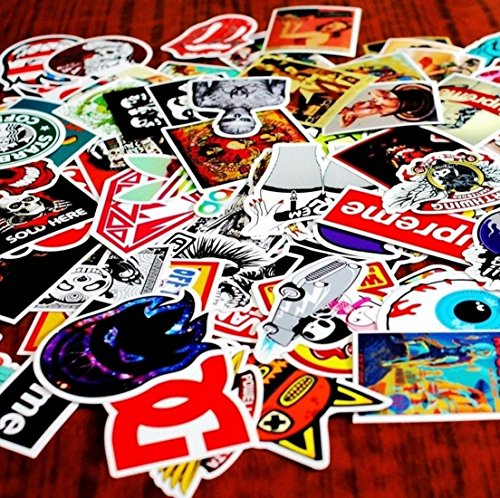 Nasty Graffiti (20pcs Car Stickers Random Mix Vinyl Skateboard Graffiti Laptop Luggage)