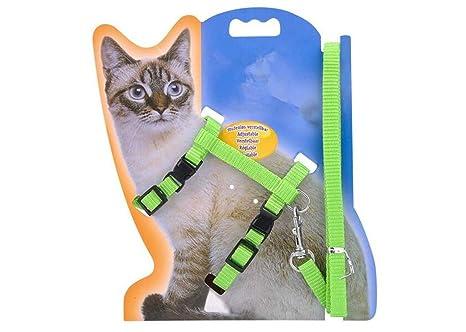 LA VIE Arnés Ajustable para Gatos y Cuerda de Seguridad de Nylon ...
