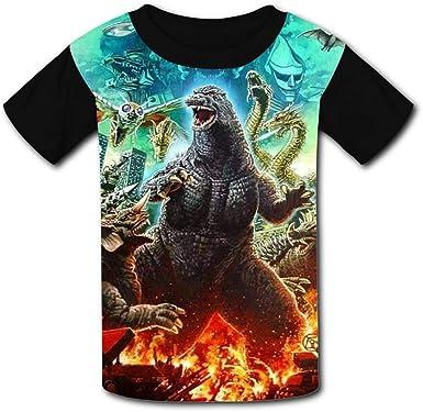Toddler T-Shirt Kid Gift Kid Shirt Toddler Gift Kid Tshirt Kid Tee Kid Birthday Godzilla Art Kids T-Shirt