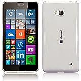 Plus Ultra Clear Transparent Flexible Soft TPU Slim Back cover for Microsoft Lumia 640 Dual Sim