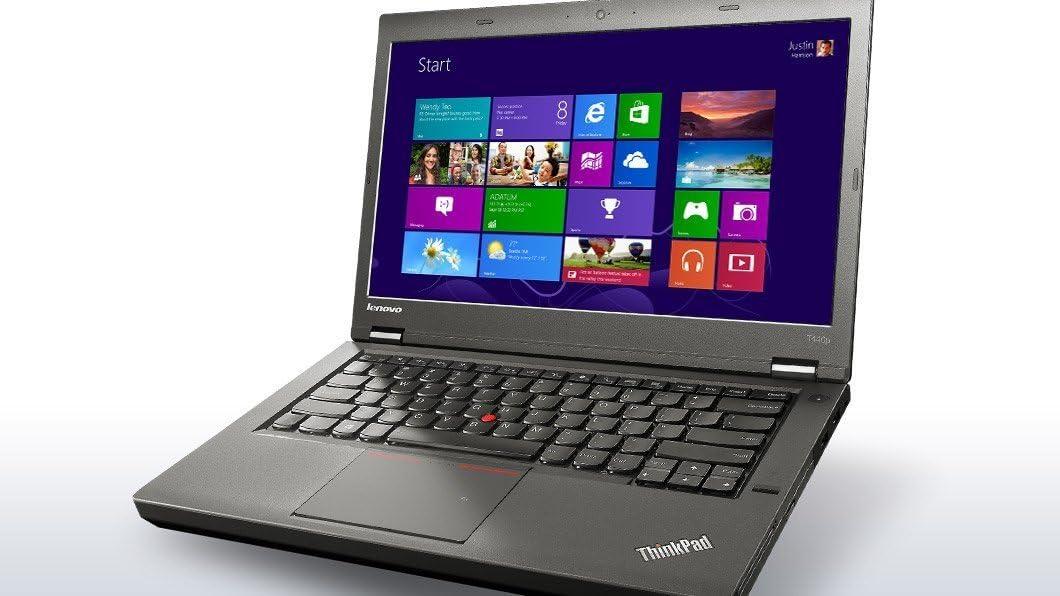 "Lenovo ThinkPad T440P Business Laptop: 14"" (1366x768), Intel Core i7-4600M, 256GB SSD, 16GB RAM, DVD-RW, Backlit Keys, FP Reader, Windows 8.1 Pro"