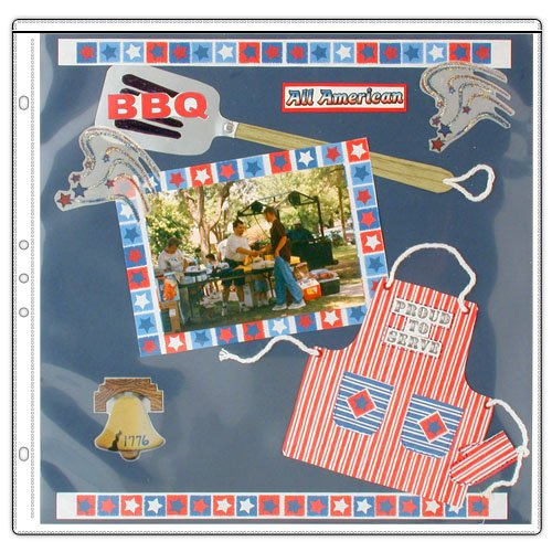 StoreSMART - 12'' x 12'' - Archival Album Refill Pages - 100-Pack - REF12-100 by STORE SMART (Image #5)