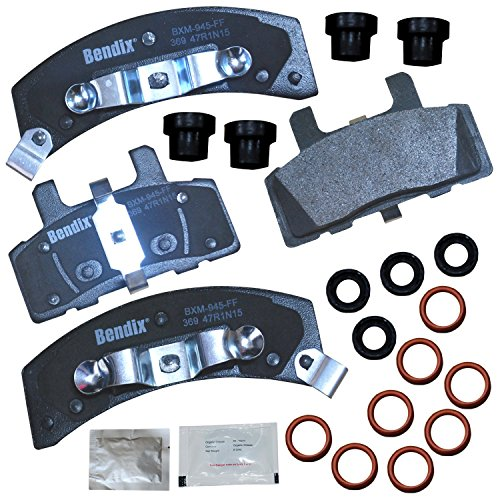 Bendix Premium Copper Free CFM369 Premium Copper Free Semi-Metallic Brake Pad