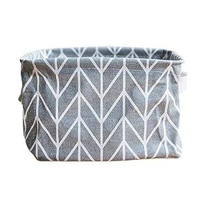 IEason Storage Bins, Foldable Colors Storage Bin Closet Toy Box Container Organizer Fabric Basket …