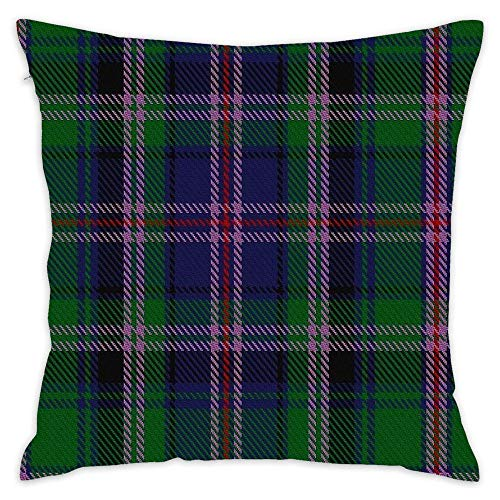 Cooper Couper (James Cant) Clan Family Tartan Throw Pillow Case 18 x 18 Inches Soft Cotton Home Decorative Cushion Cover for Sofa and Bed 18x18 Inch]()