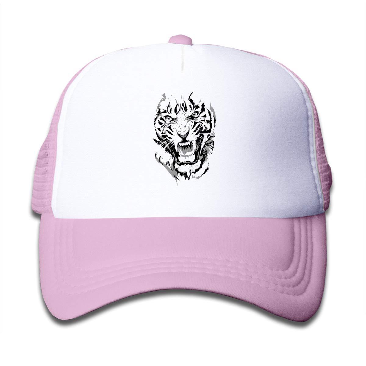 Tiger Eyes Kids Hip Hop Caps Hat Black