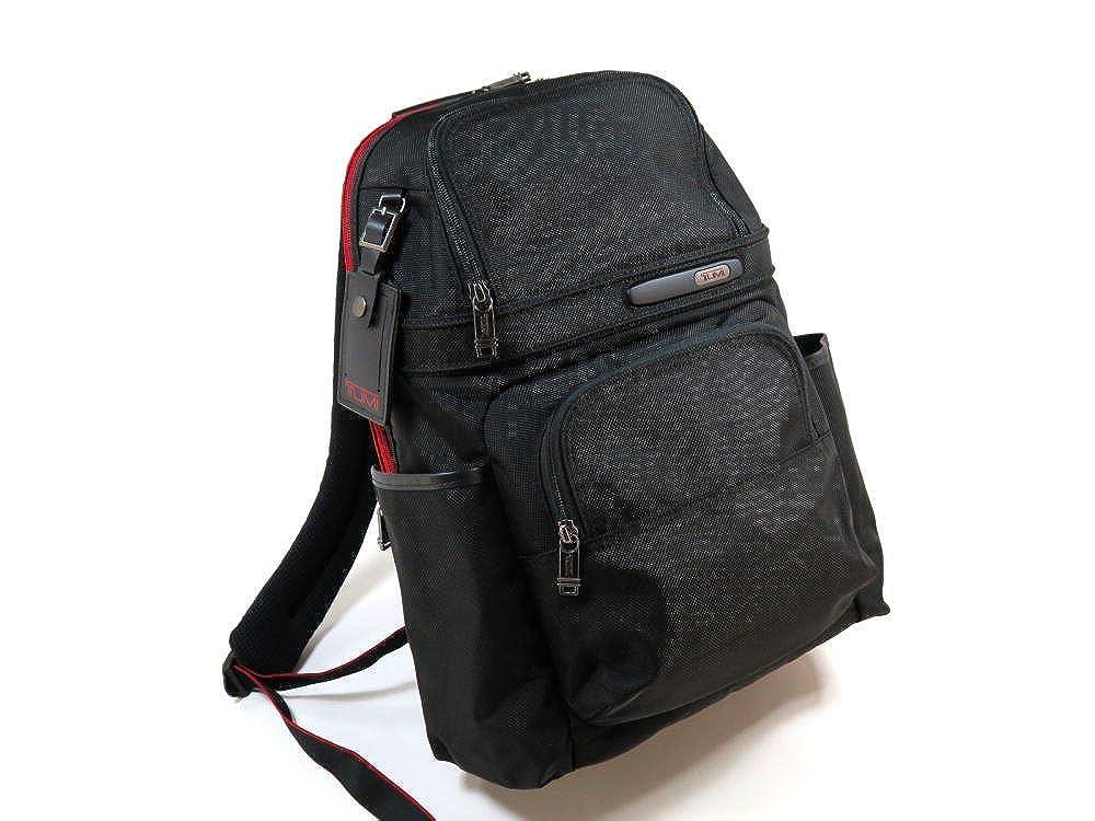 トゥミ(TUMI) 263162 Compact Backpack IDロック(個人情報保護) PC収納可能 バリスティックナイロン バックパック 474 黒 BLACK [並行輸入品] B07638D3WR