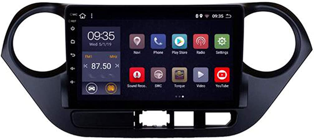 Hp Camp 9 Zoll Android Auto Navigation Gps Stéréo De Voiture Multimedia Player Für Hyundai I10 2013 2016 Fm Aux Usb Quad Core Lien Miroir Lenkradsteuerung Wifi 2g 32g Sport Freizeit