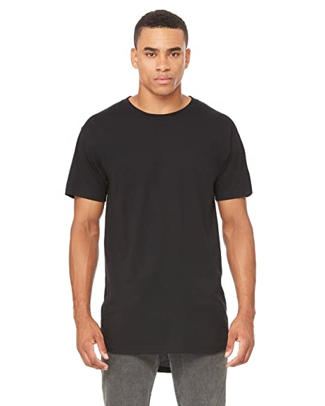 2ae888446ca Image Unavailable. Image not available for. Color  Men s Long Body Urban T- Shirt