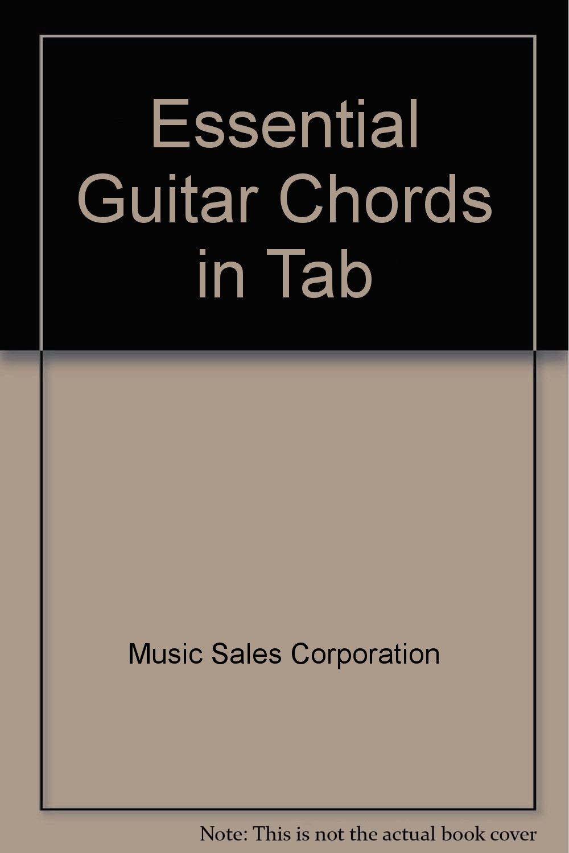 Amazon Essential Guitar Chords In Tab 9780711937789 Music