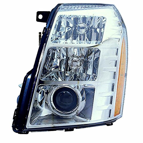 Fits Cadillac Escalade 2007-2009 Headlight Assembly W/HID Type(09 1ST DESIGN) LH GM2502291