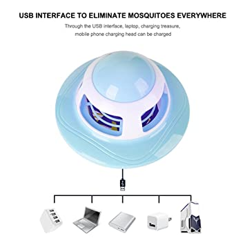 Amazon.com: Teepao Mosquito Repellent,Mute Electronic Mosquito Killer Zapper Lamp with USB Powered LED Purple Lights Non-Radiative,Built In Insect Trap For ...