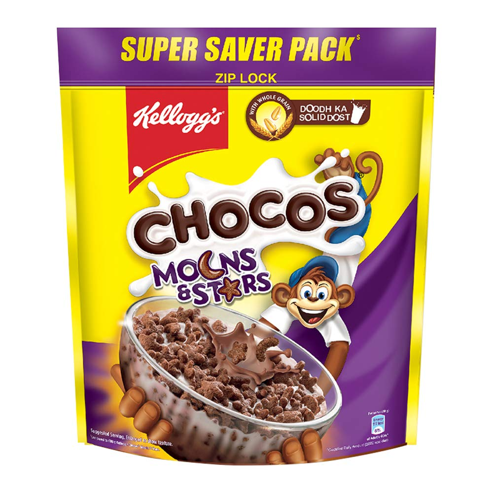 Kellogg's Chocos 1.2kg Moons and Stars for ₹262