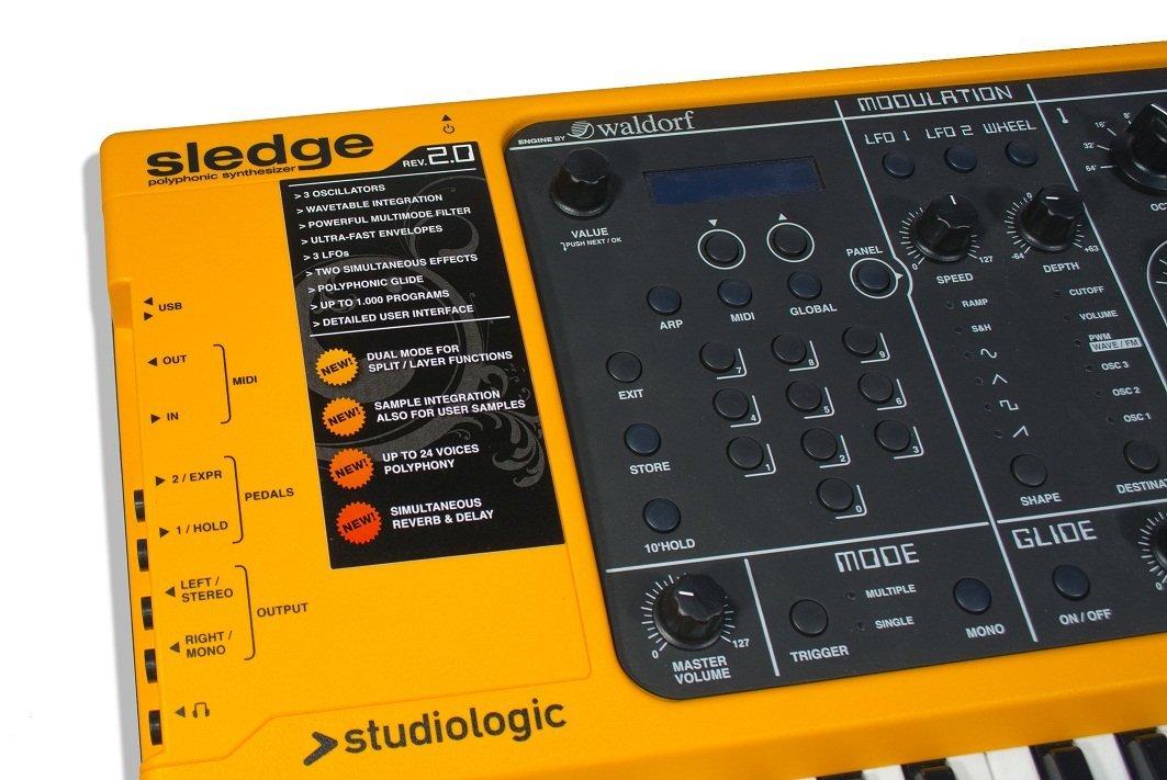 Sintetizzatore analogico Studiologic Sledge 2.0