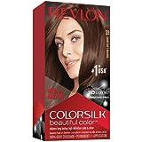 Revlon Colorsilk Beautiful Color, Dark Soft Brown, 1 Count