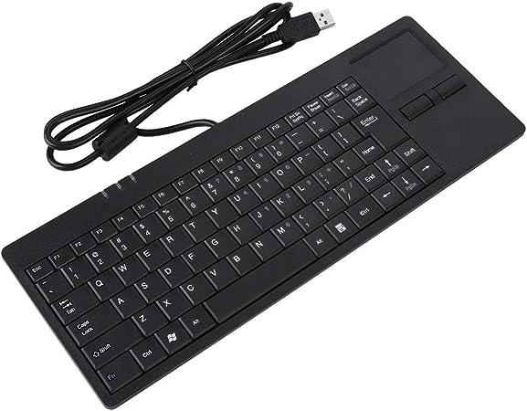 MC-818 82 Teclas Teclado USB Teclado con Cable Touchpad ...