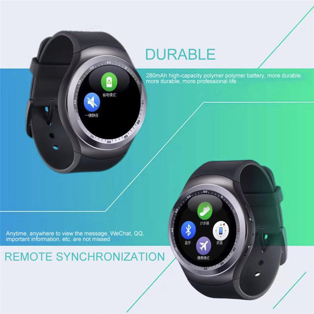 Amazon.com: Huangou - Reloj inteligente con Bluetooth ...