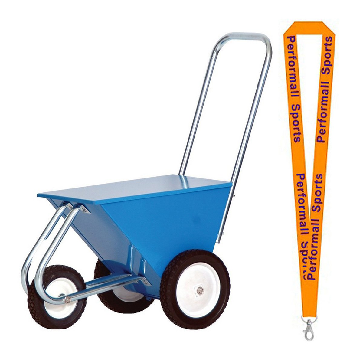 Champion Sports Delutxe Dry Line Marker Blue with 1 Performall Lanyard STD50-1P